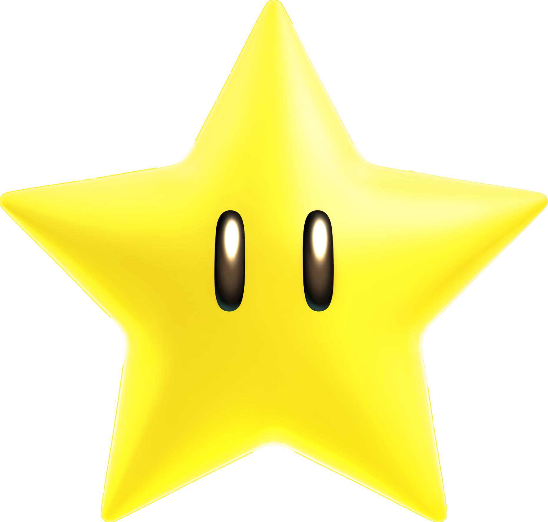 Mario star clipart png graphic Powerup-super-star-sm.png 1,862×1,774 pixels | Super Mario et Luigi ... graphic