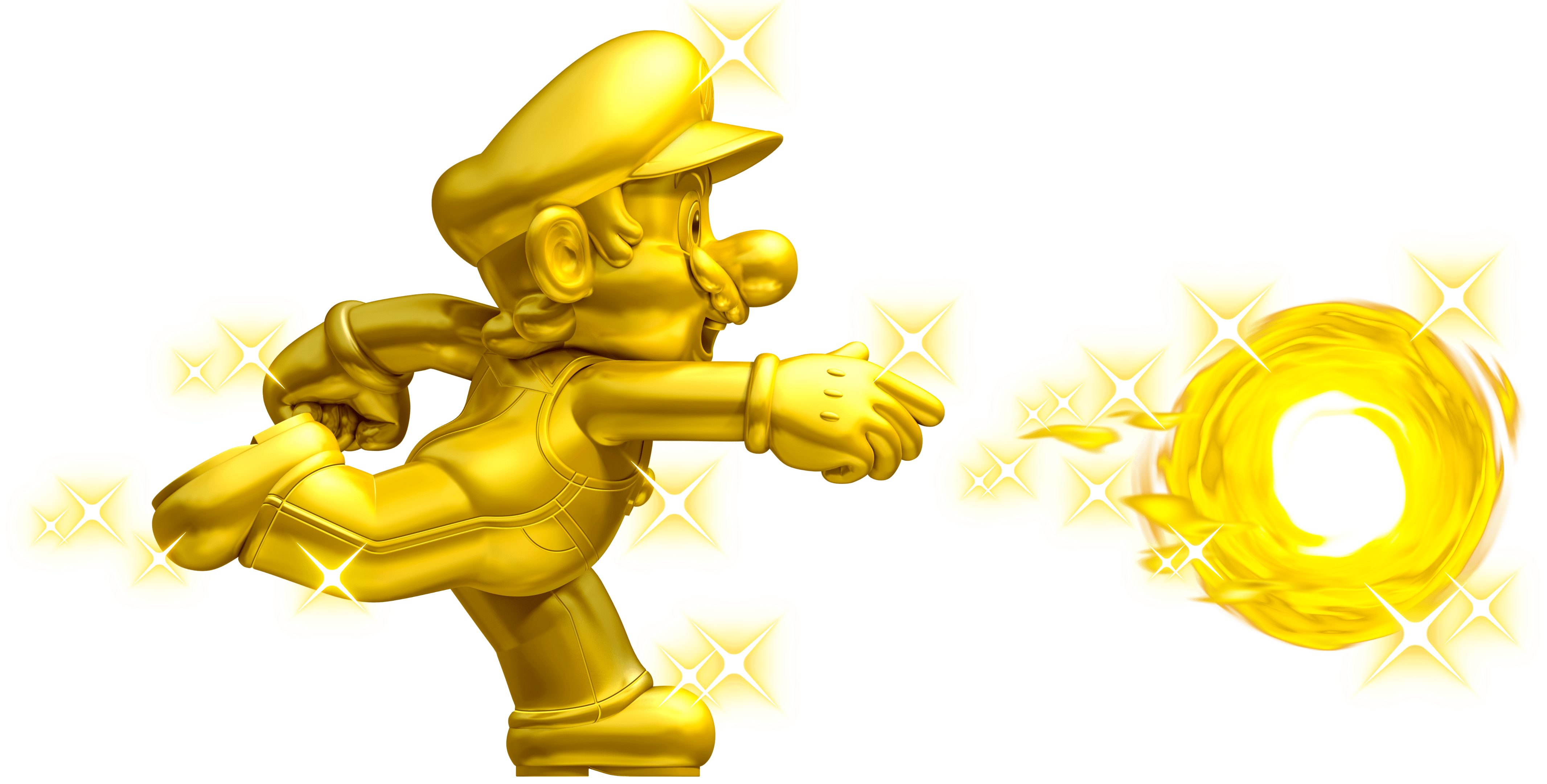 Mario star clipart no background image transparent stock Mario Gold Fire transparent PNG - StickPNG image transparent stock