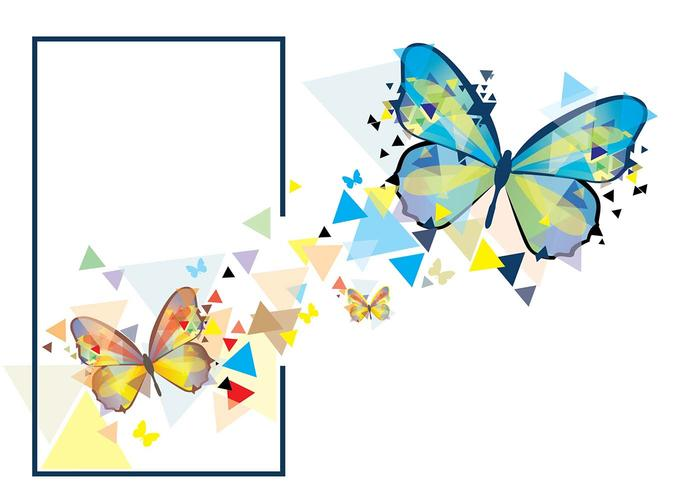 Mariposa clipart vector jpg royalty free download Mariposa Mosaic illustration - Download Free Vectors ... jpg royalty free download