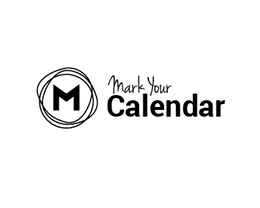 Mark your calendars clipart black and white picture black and white download Download mark your calendar logo clipart Logo Calendar Brand picture black and white download