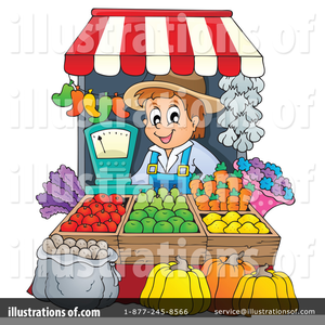 Market clipart free vector library stock Clipart Of Farmers Market | Free Images at Clker.com ... vector library stock