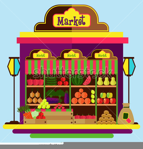 Market clipart free graphic black and white stock Market Place Clipart | Free Images at Clker.com - vector ... graphic black and white stock
