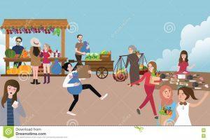 Market scene clipart vector freeuse download Market scene clipart 7 » Clipart Portal vector freeuse download