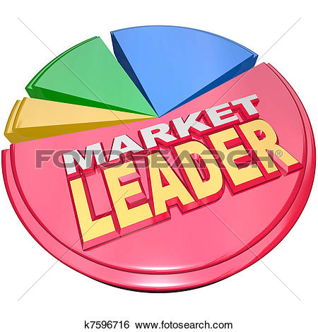 Market size clipart image freeuse download Stock Photography of Competition Pie Chart Market Share ... image freeuse download