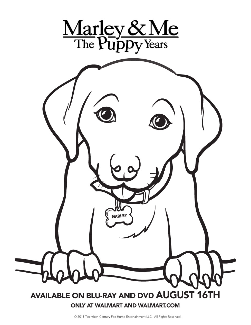 Marley the dog clipart