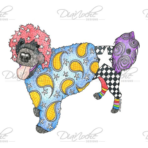 Marley the dog clipart image library download Unique Duvet Covers and Shams | Marley Ungaro - Portuguese Water ... image library download