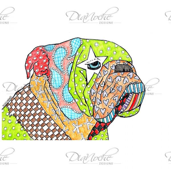 Marley the dog clipart svg royalty free library Unique Dog Pet Beds | Marley Ungaro's English Bulldog - DiaNoche ... svg royalty free library