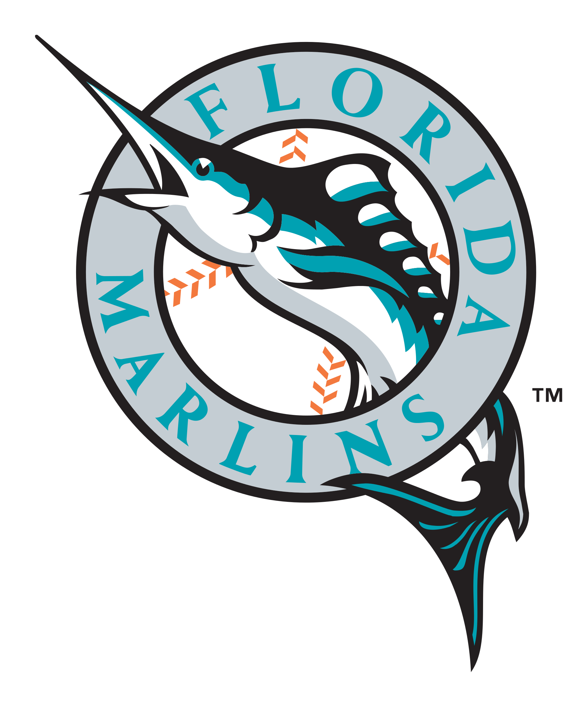 Miami marlins baseball jersey clipart svg download Marlins Logos svg download