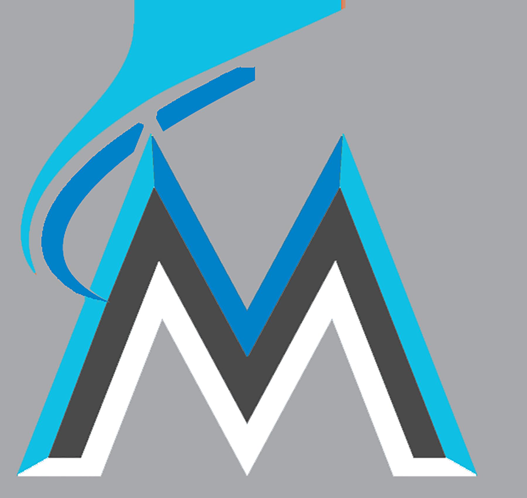 Miami marlins baseball jersey clipart clip art black and white library Marlins Logos clip art black and white library