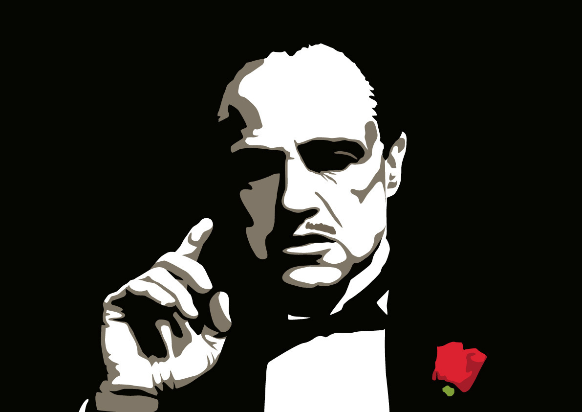 Marlon brando clipart png black and white 42 Years Ago Marlon Brando Refuses An Oscar For His ... png black and white