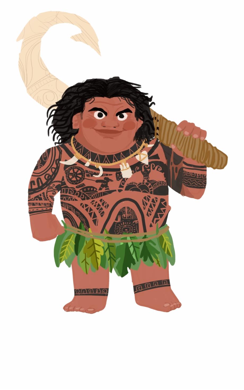 Maroi clipart image transparent stock Moana Clipart Maori People - Moana Maui Clipart Png Free PNG ... image transparent stock