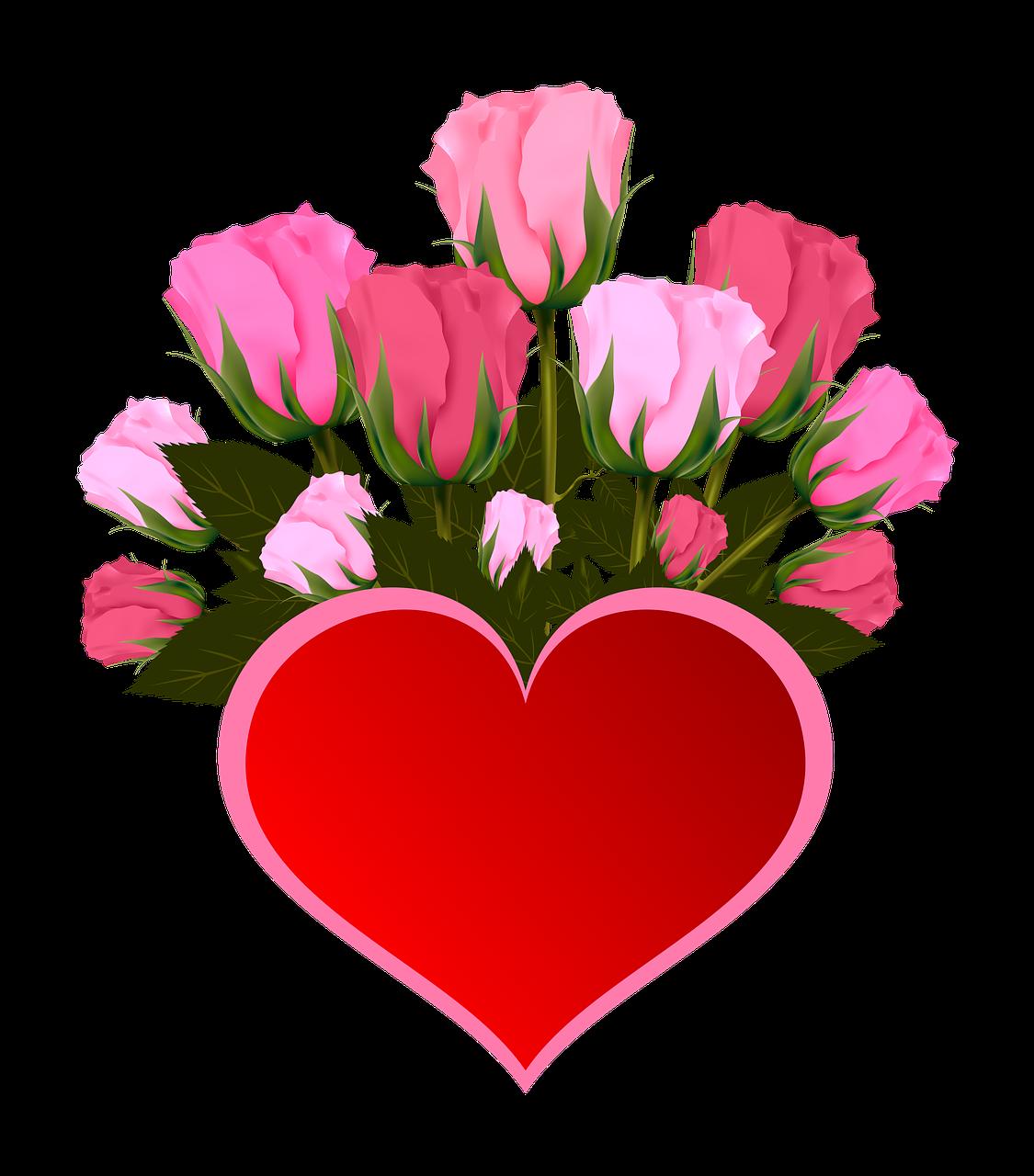 Maroon colored thanksgiving clipart image transparent download Gratis billede på Pixabay - Blomster, Rose, Pink, Buket, Hjerte ... image transparent download