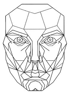Marquardt mask clipart black and white stock 92 Best Face charts images in 2014   Makeup face charts ... black and white stock