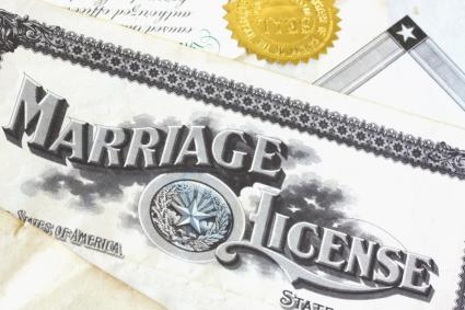 Marriage license clipart banner library download Obtaining a Marriage License | LoveToKnow banner library download