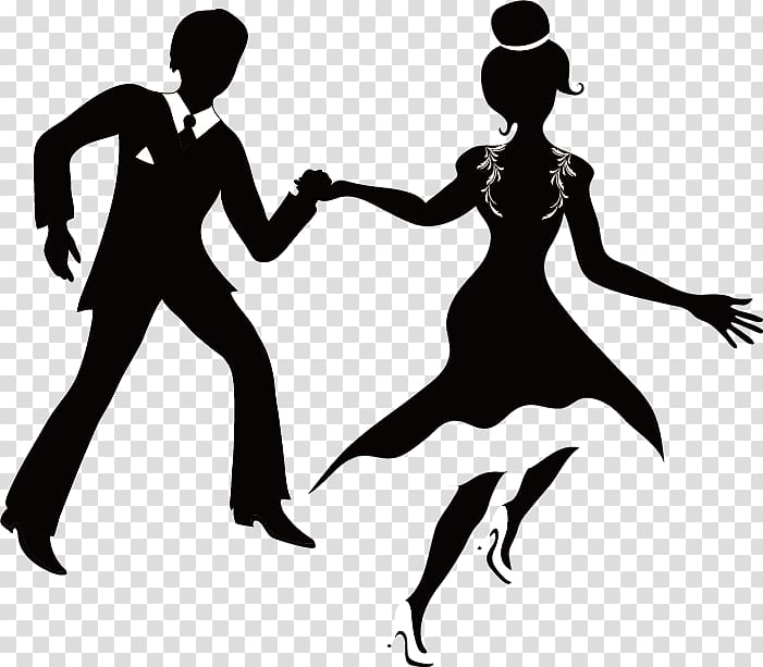 Marriage png clipart hispanic male white female clip black and white download Wedding invitation , Silhouette couple running transparent ... clip black and white download