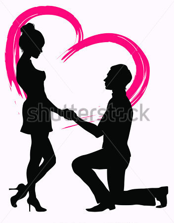 Marriage proposal pictures clipart png library stock marriage proposal. Vector | Clipart Panda - Free Clipart Images png library stock