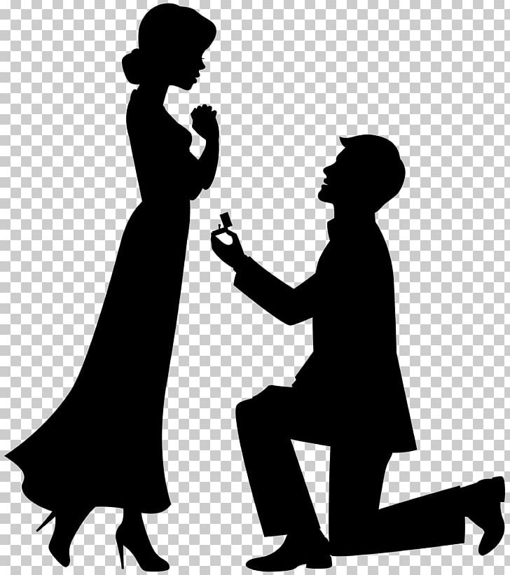 Marriage proposal pictures clipart graphic black and white library Marriage Proposal Drawing Engagement PNG, Clipart, Artwork ... graphic black and white library
