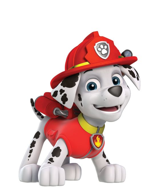 Marshall clipart paw patrol image black and white stock Marshall paw patrol clipart - ClipartFest image black and white stock
