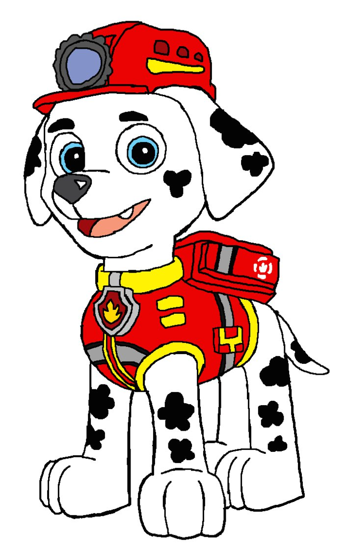 Marshall clipart paw patrol svg freeuse stock Marshall - EMT Outfit by KingLeonLionheart on DeviantArt svg freeuse stock