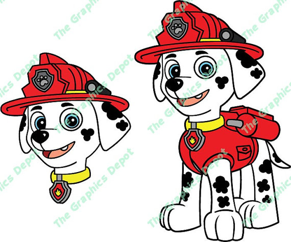 Marshall clipart paw patrol png royalty free stock Paw patrol marshall clipart - ClipartFest png royalty free stock