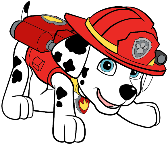 Marshall clipart paw patrol clip library Paw Patrol Clip Art Images | Cartoon Clip Art clip library