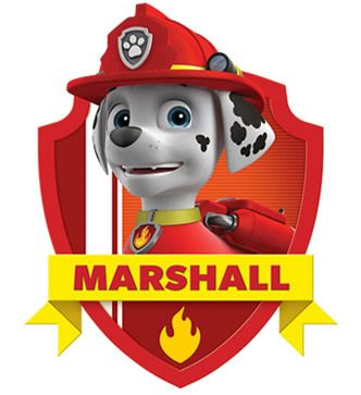 Marshall paw patrol clipart clip art transparent library Paw Patrol: Free Printable Mini Kit of Marshall. | Christmas gifts ... clip art transparent library