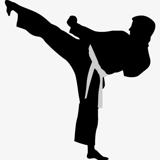 Martial arts black belt clipart graphic black and white stock Karate Action Figures, Karate Clipart, Action, Sketch PNG and Vector ... graphic black and white stock
