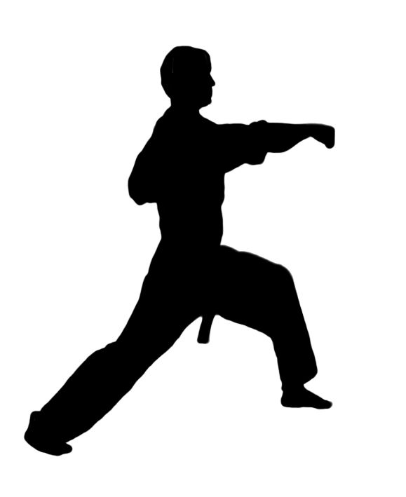 Karate kick clipart png free stock Karate figures clipart kid 3 | karate art | Karate, Karate kick ... png free stock
