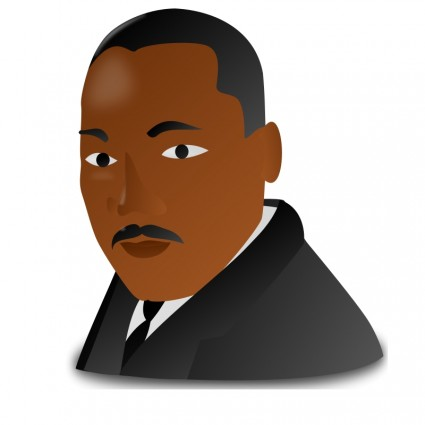 Martin luther king jr clipart simple jpg freeuse download Martin Luther King Jr Day Icon-vector Clip Art-free Vector Free Download jpg freeuse download