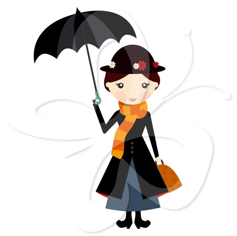 Maru poppins clipart image stock Mary Poppins Clip Art | Clipart Panda - Free Clipart Images image stock