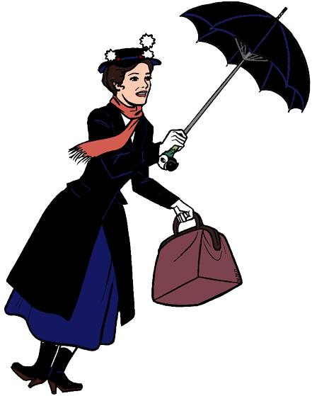 Maru poppins clipart clipart transparent stock Mary Poppins Clip Art | Disney Clip Art Galore clipart transparent stock