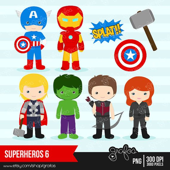 Marvel avengers clipart png royalty free Avengers Clipart - Clipart Kid png royalty free