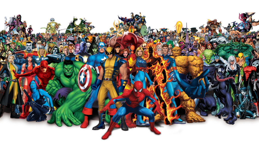 Marvel character clipart on transparent background clip library download Marvel comics clipart border - ClipartFox clip library download