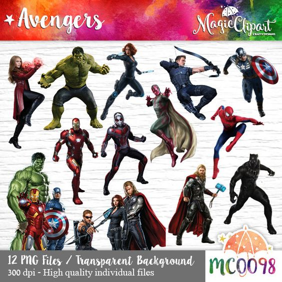 Marvel character clipart on transparent background svg freeuse Pinterest • The world's catalog of ideas svg freeuse