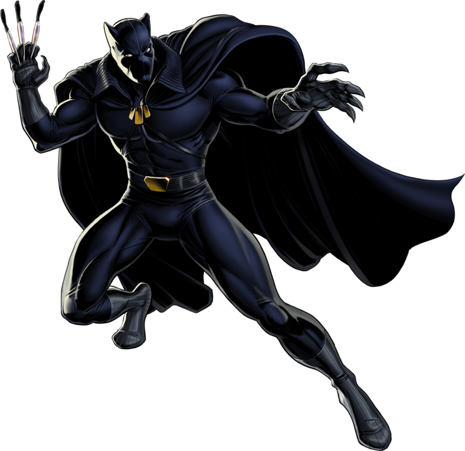 Marvel clip art png royalty free library Black #Panther #Clip #Art. (THE * 5 * STÅR * ÅWARD * OF: * AW YEAH ... png royalty free library