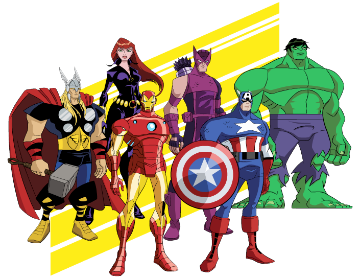 Marvel clipart vector free stock Free Avengers Clip Art Clipart | football | Pinterest | Art clipart ... vector free stock