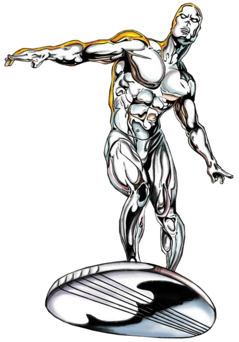 Marvel comic book clipart picture black and white Silver Surfer   Fictional Battle Omniverse Wiki   FANDOM powered by ... picture black and white