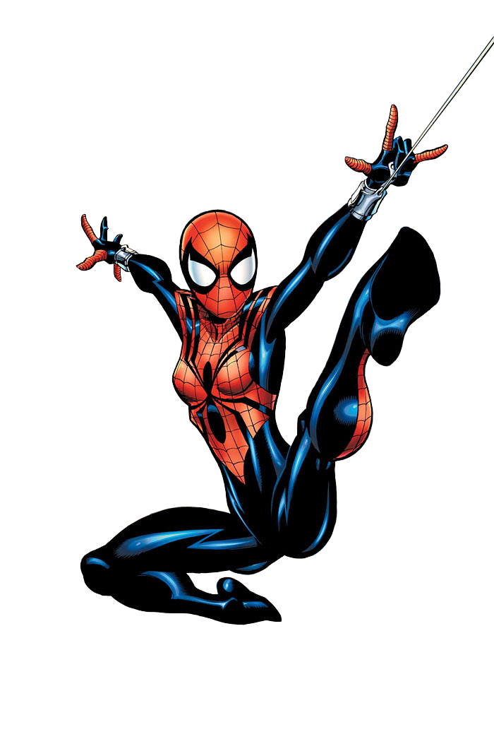 Marvel comic book clipart png black and white Spider-Girl   Death Battle Fanon Wiki   FANDOM powered by Wikia png black and white