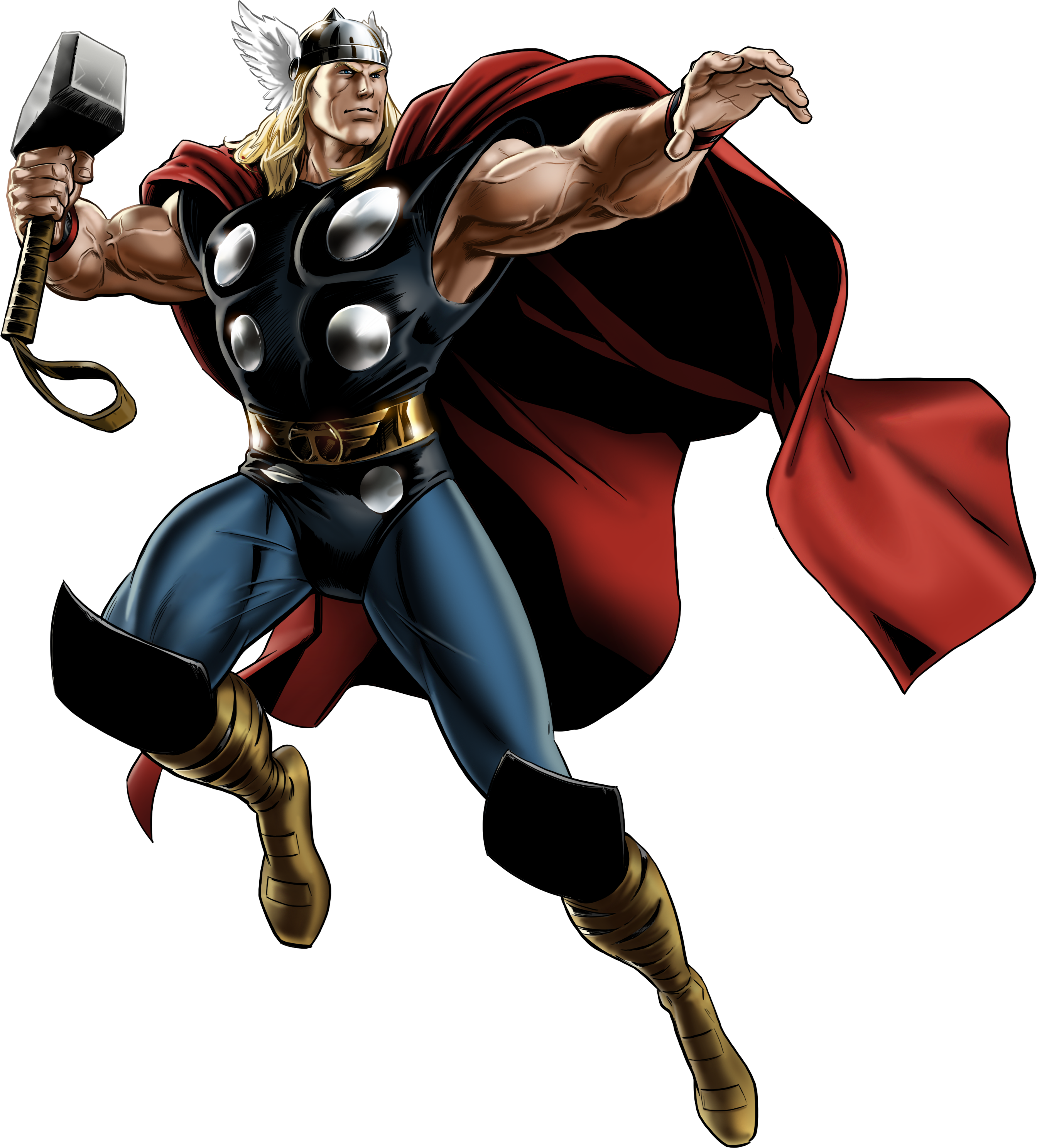 Marvel comic book clipart banner free download Marvel Avengers Alliance Thor Classic by ratatrampa87.deviantart.com ... banner free download