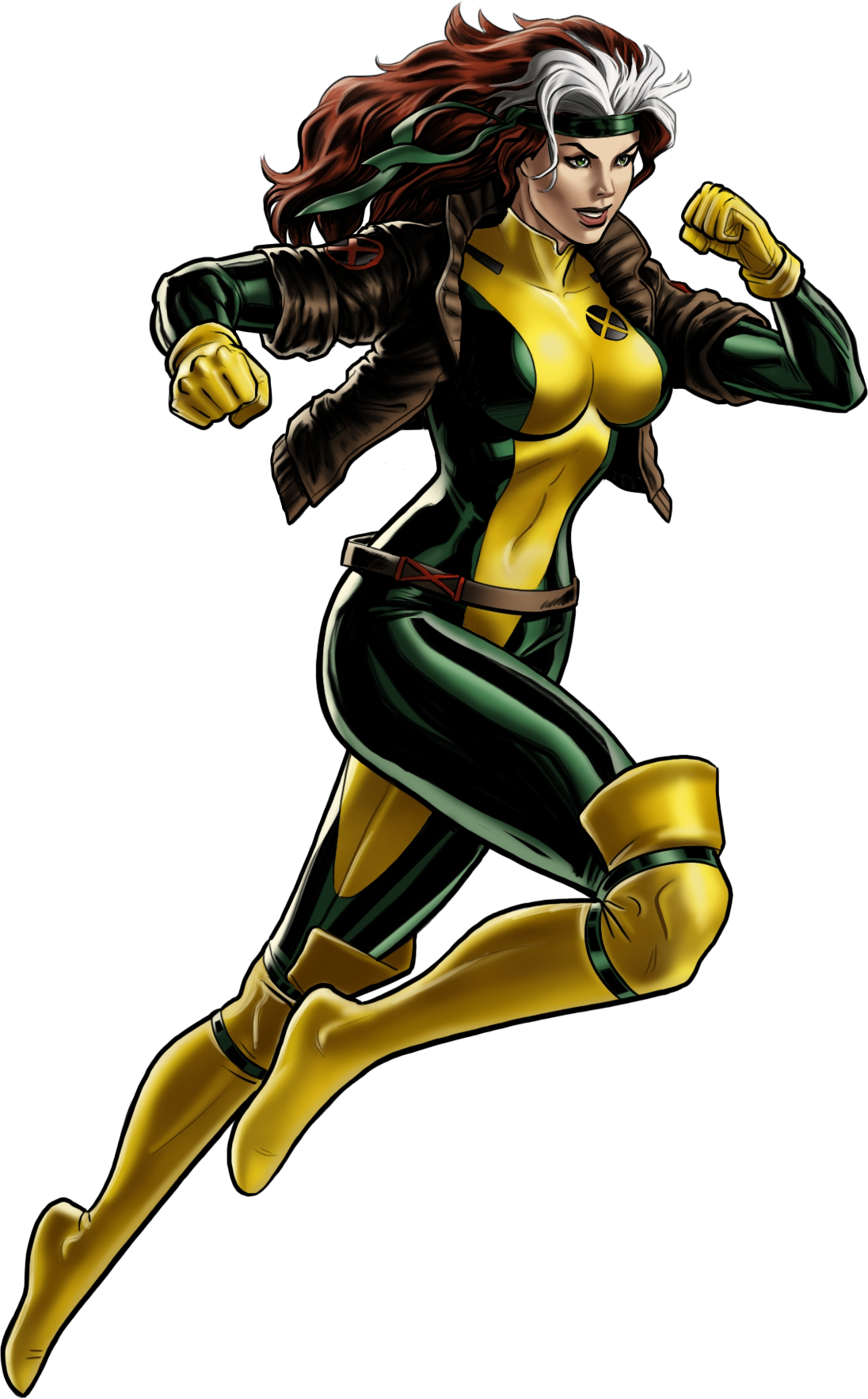 Comic book superhero clipart graphic free library Image - Rogue (Anna Marie) (Earth-12131) from Marvel Avengers ... graphic free library