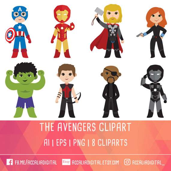 Marvel comic clipart vector freeuse stock 30% OFF Super Hero Clipart Avengers Super Hero Clip art vector freeuse stock