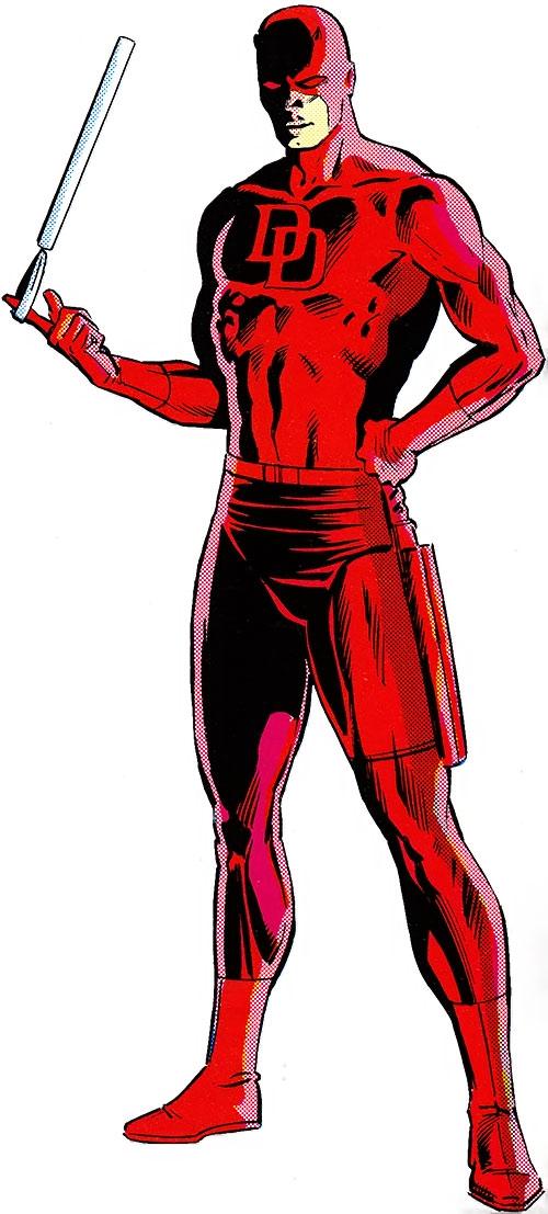 Marvel comic clipart vector free library Daredevil - Marvel Comics - Matt Murdock - Hornhead - Profile ... vector free library