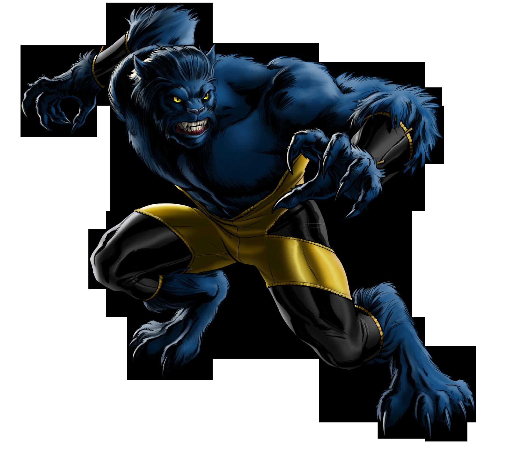 Marvel comic clipart vector black and white Beast (Marvel Comics) | Death Battle Fanon Wiki | FANDOM powered by ... vector black and white