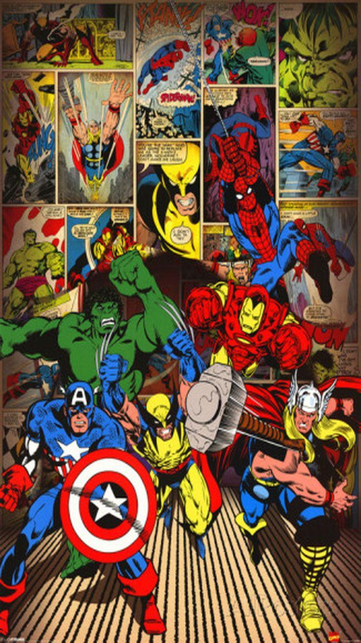 Marvel comics clipart vector free library Marvel comics clipart iphone - ClipartFox vector free library