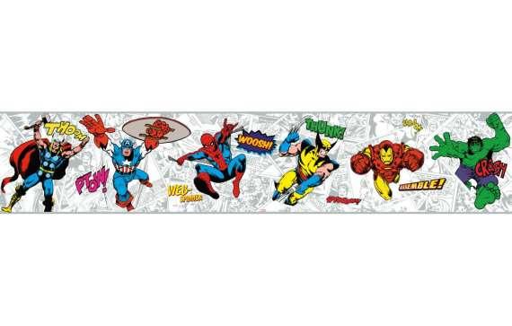 Marvel comics clipart banner transparent stock Marvel comics clipart border - ClipartFox banner transparent stock