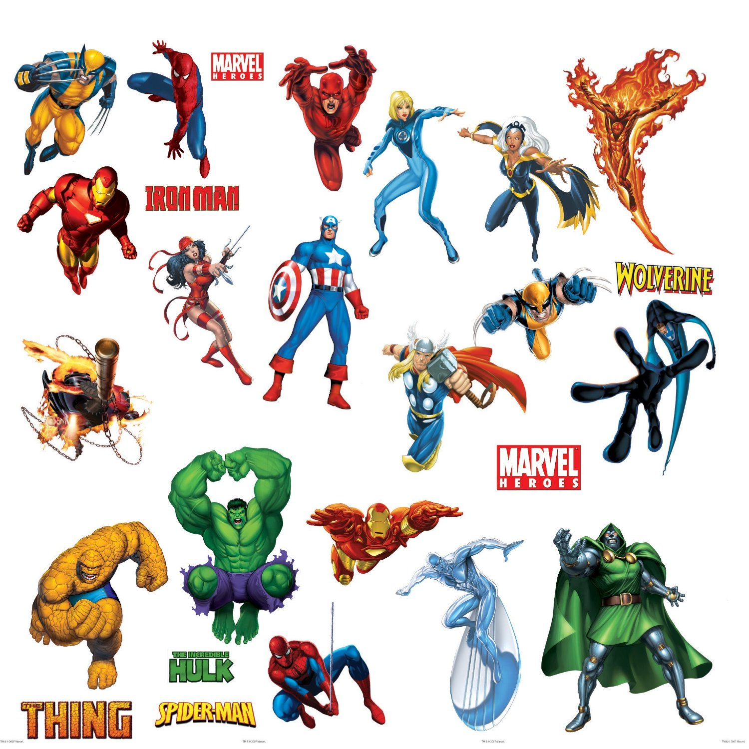 Marvel heroes clipart graphic freeuse library Marvel Super Hero Clipart - Clipart Kid graphic freeuse library