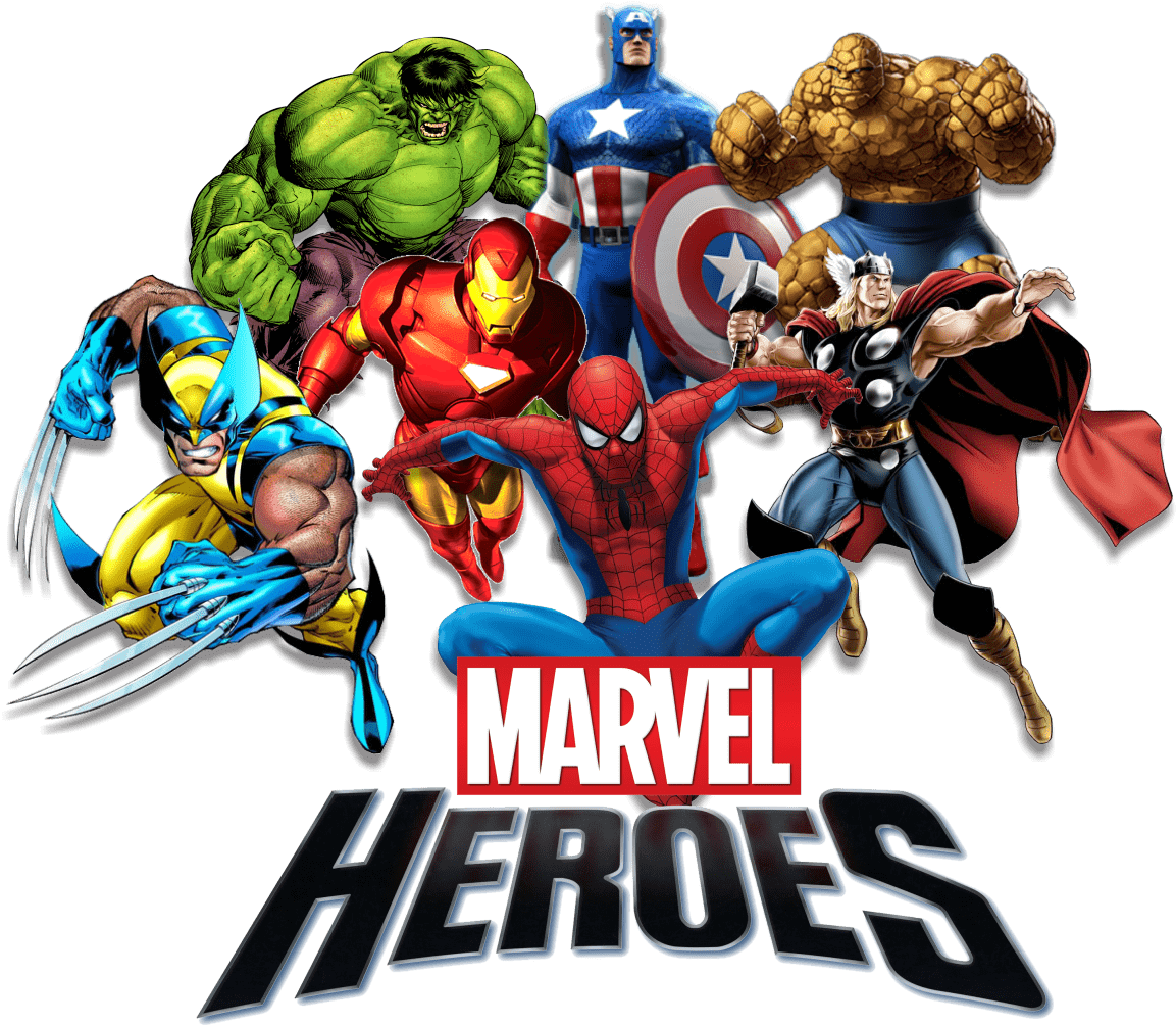 Marvel heroes clipart royalty free library Marvel Heroes transparent PNG - StickPNG royalty free library