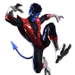 Marvel heroes omega clipart picture black and white stock Marvel heroes omega nightcrawler clipart images gallery for free ... picture black and white stock