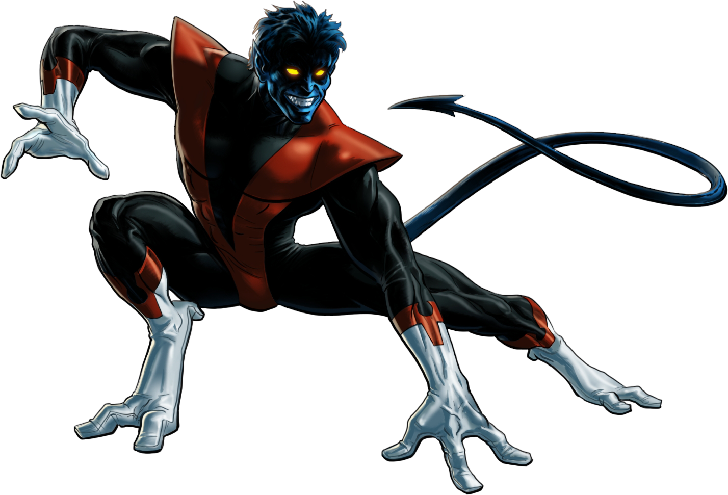 Marvel heroes omega clipart vector library Marvel heroes omega nightcrawler clipart images gallery for free ... vector library