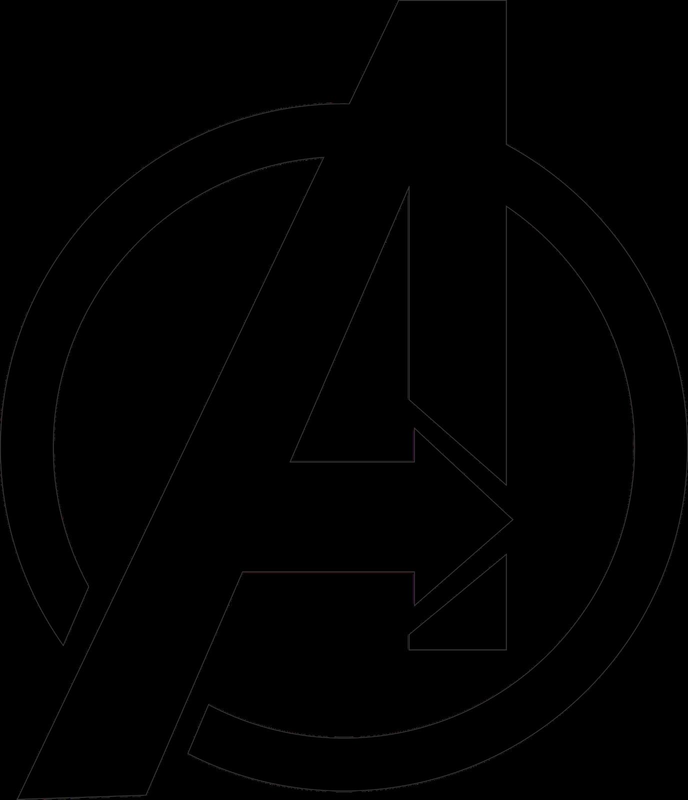 Marvel logo clipart